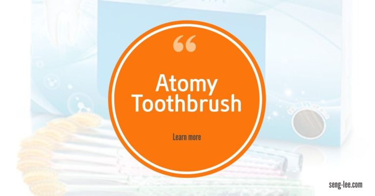 Atomy Toothbrush Cares For Your Gums & Teeth