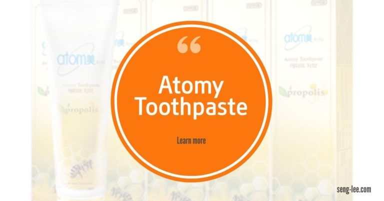 Atomy Toothpaste Keeps Your Teeth Clean & Fresh All Day