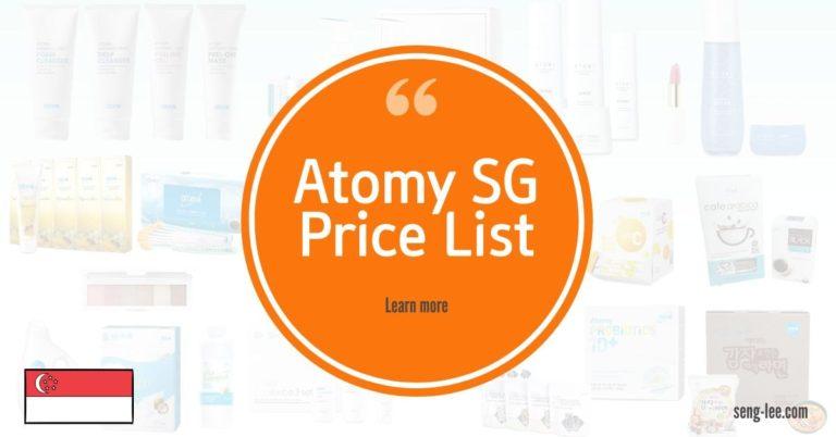 Atomy Singapore Price List
