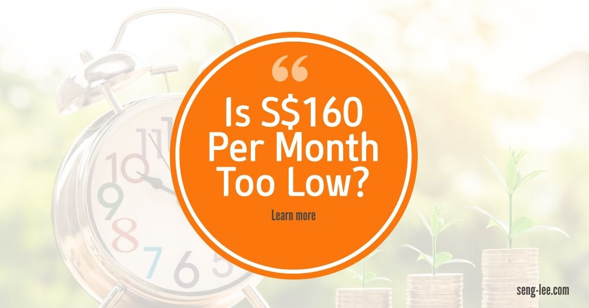 Is 160 Per Month Too Low