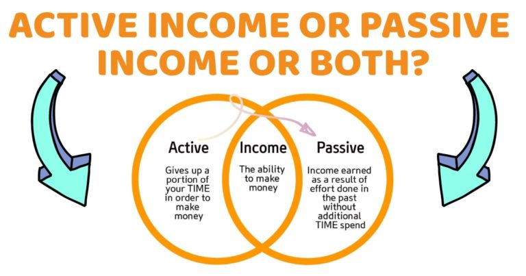 Active Income or Passive Income or Both?