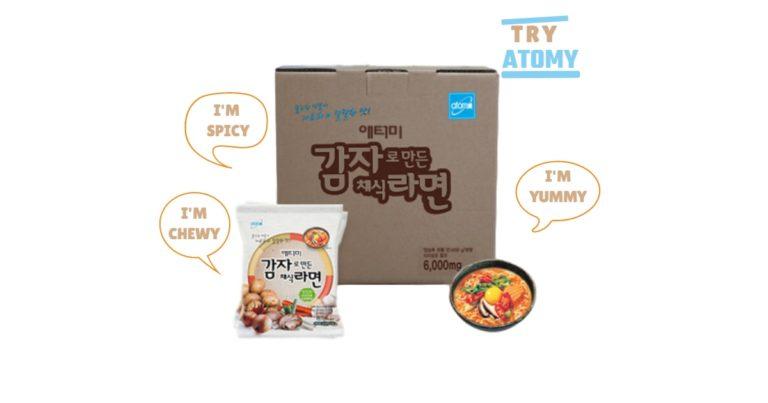 Atomy Potato Ramen Recipe