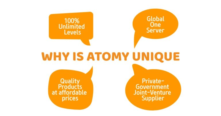 Why Is Atomy Unique