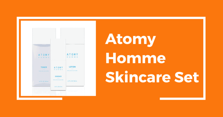 Atomy Homme Skincare Set