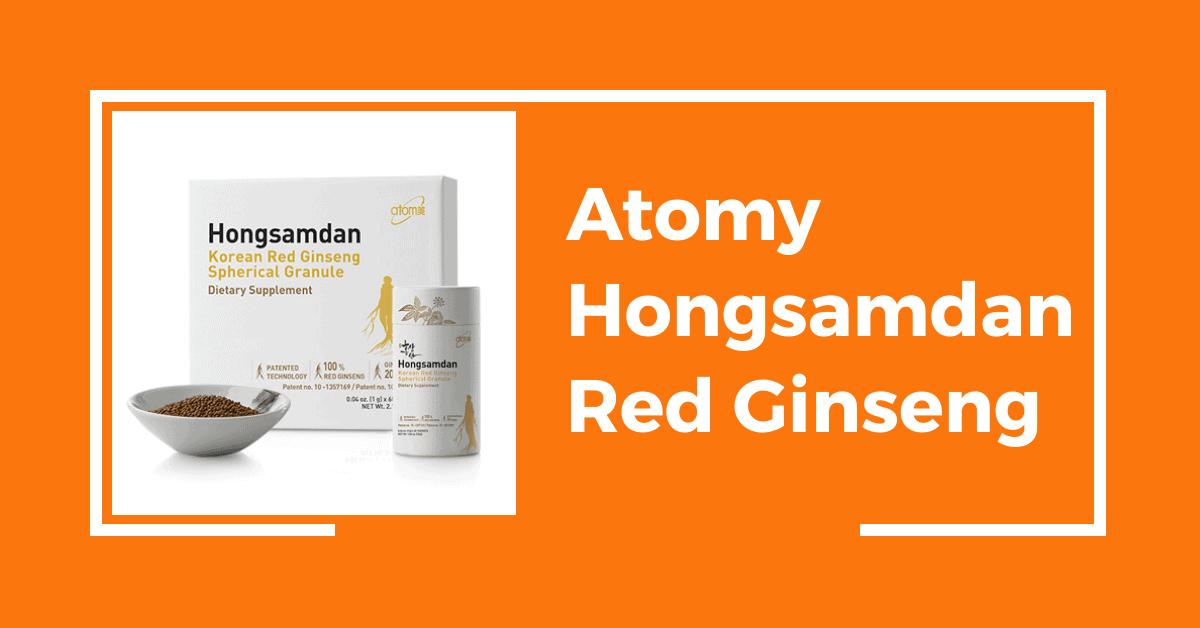 Atomy Hongsamdan (Red Ginseng)