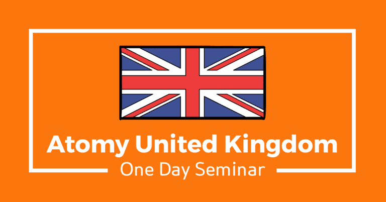 Atomy UK – One Day Seminar (25th June 2021) [English]
