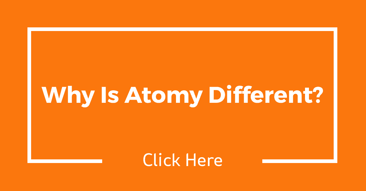Why Is Atomy Different